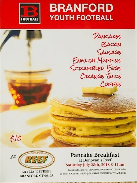 Pancake Breakfast at Donovan's Reef July 28th